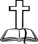 cross open bible